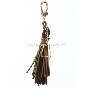State of Alabama Charm Faux Leather Tassel Key Chain Ornament Gift