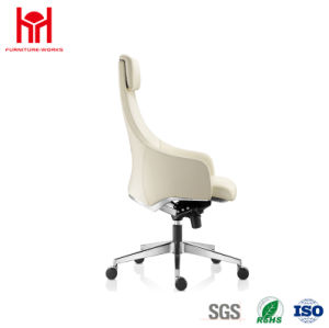 Hot Sale High Quality High Back Swivel Office Leather Chair pictures & photos