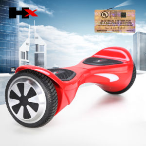 UL 2272 Black Graffiti Two Wheel Hoverboard with LED