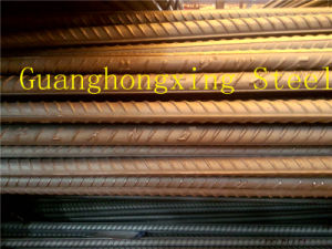 High Strength Deformed Steel Rebar for Construction Material of BS4449 500b, HRB500, ASTM A615 Gr520