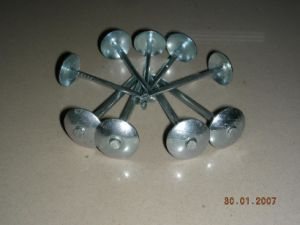 Galvanized Umbrella Head Roofing Nails Hardware Factory