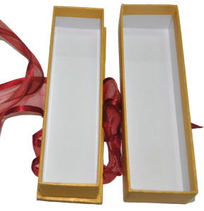 2014 Hot Sale Golden Colour Package Box with Ribbon (YY-B0186) pictures & photos