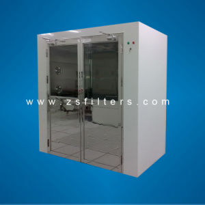 Double-Leaf Doors Air Shower