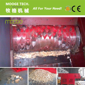 Single Shaft Plastic or Wood Shredding Machine pictures & photos