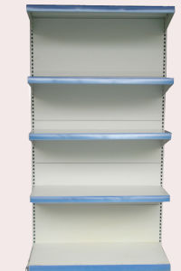 Square-Tube Back-Webbing Shelf/Supermarket Rack (008)