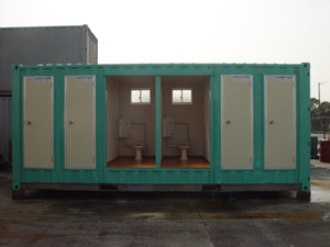 Mobile Toilet Bathroom Container For Home Or Office
