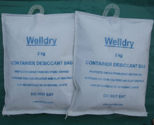 Container Desiccant Bag for The Shipping Container of Cocoa Beans or Coffee Beans, 2kg with Hook pictures & photos