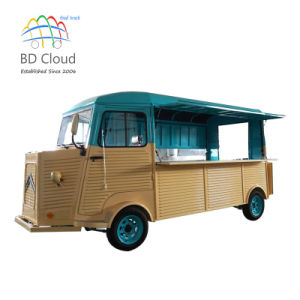 Food Truck for Selling Ice Cream and Coffee Usage