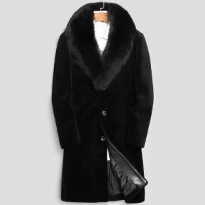 Factory fabrication outerwear, fur and sheepskin-fur coat