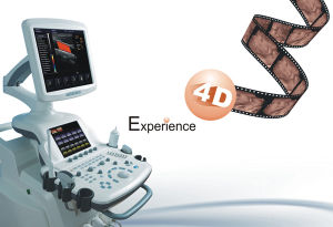 Trolley 4D Color Doppler Ultrasound Scanner with LCD Display pictures & photos