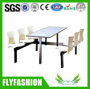Restaurant Furniture Popular Dining Table and Chair (DT-04) pictures & photos