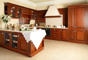 High Gloosy Finish Door Kitchen Cabinet with Roller Shutter (PR-K2047) pictures & photos