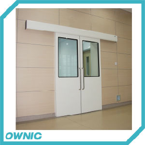 Best Price Double-Leaf Type Automatic Sliding Door pictures & photos