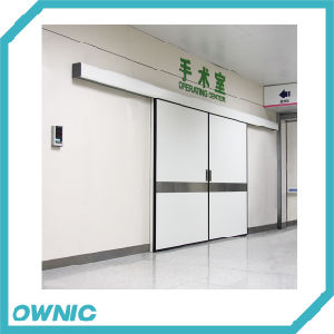Operation Room Automatic Double-Leaf Hermetic Sliding Door pictures & photos