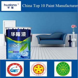 Hualong Odourless Smooth Health Interior No Toxic Wall Paint pictures & photos