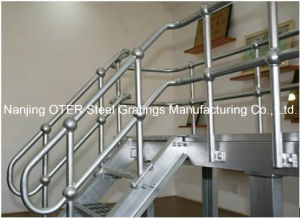 Hot Dipped Galvanized Steel Pipe Tube Handrail