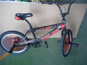 "Disk Brake 20"" Spoke Mini Freestyle BMX Bike (AOK-BMX023) pictures & photos"