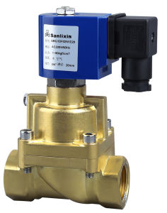 Low Power 2/2-Way High Pressure Water Air Steam Solenoid Valve pictures & photos