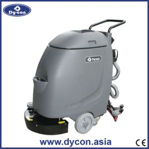 Handpush Mini Cable-Type Floor Scrubber for Supermarket007 pictures & photos