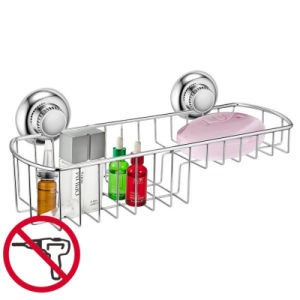 Suction Stainless Steel Shower Rack