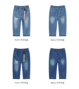 Wholesale High Quality Denim Leisure Style Shorts Children Clothes and Baby Clothes