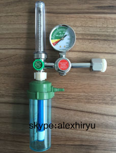 Medical Oxygen Gas Regulator with Flowmeter Equipment pictures & photos