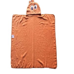 Animal Face 100% Cotton Baby Terry Hooded Towel pictures & photos