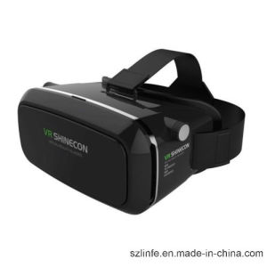 OEM 3D Virtual Reality Glasses Vr Box Headset 3D Vr Shinecon with Bluetooth Remote Controller