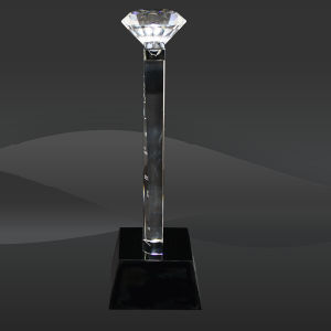 Crystal Diamond Tower Award (J-CRY3211C) pictures & photos