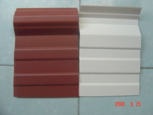 Foam UPVC Heat Insulation Roofing Tile pictures & photos