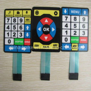 Embossed Self Adhesive Membrane Switch Keyapd pictures & photos