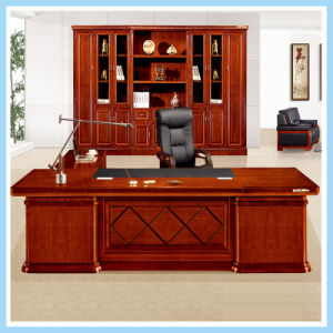 Cutomized Wooden Office Desk Large Luxury Boss Executive