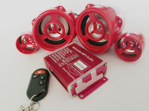 Waterproof Decoration MP3 Audio with Twins Speaker
