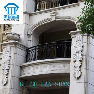 High Quality Wrought Zinc Steel Balcony Guardrail 016