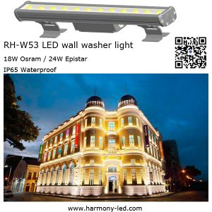 Outdoor High Waterproof 18*1W Powerfull RGB LED Bar pictures & photos