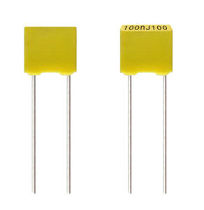 Box Type 100V 104j Polyester Film Capacitor