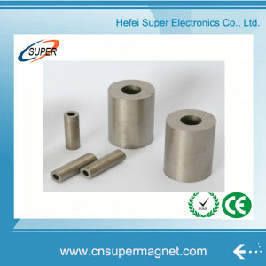 Permanent Strong Sintered Samarium Cobalt SmCo Magnet Block with Hole pictures & photos
