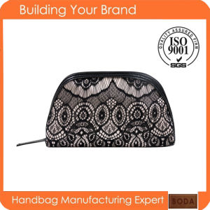 2017 Lady Fashion in Europe and The Lace Cosmetic Bag (BDM177) pictures & photos