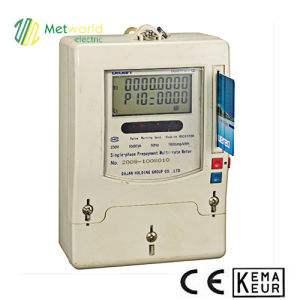Single Phase Electronic Prepayment Energy Meter Ddsfy577 pictures & photos