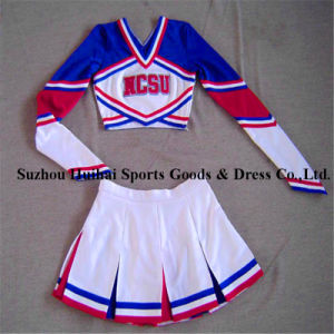 Spandex Long Sleeve Cheerleading Uniforms  sc 1 st  Suzhou Huihai Sports Goods u0026 Dress Co. Ltd. & China Spandex Long Sleeve Cheerleading Uniforms - China Cheerleader ...