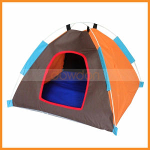 Foldable Soft Pet Dogtent Indoor Outdoor Safety House Bed for Puppy Cat Rabbit Camping pictures & photos