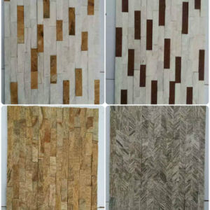 Natural Quartzite Mosaic Cultured Stone Slate Tiles