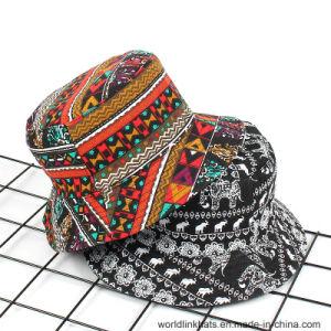 21e0c626689 China Popular Ethnic Styles Bucket Cap Reversible Fishman Cap ...