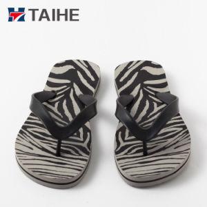 7c1e008afa78 China Custom EVA Name Brand Printed Flip Flops Thongs Beach Slipper ...