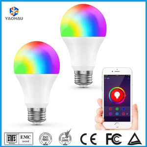 Smart RGBW LED Bulb 12W Works with Amazon Alexa Google Home Assistant A60  A19 Lighting Fxiture E27 Lamp Dimmable Multicolored WiFi APP Controlled