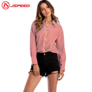 China Wholesale High Quality Office Wear New Design Normal Stripe