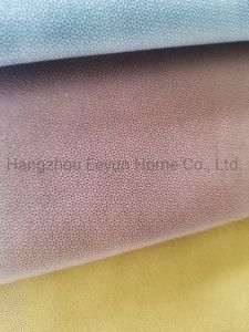 100% Polyester Upholstery Fabric Leather PU Yarn-Dyed Fabric for Sofa Curtain Furniture Decoration