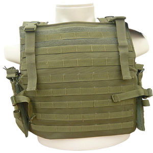 Full Protection Kevlar Safety Multi-Pockets Military Green Tactical Outdoor Travelling Quick-Release Vest pictures & photos