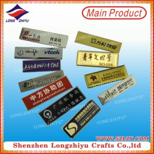 Various Name Badges Manufacturer Metal Name Badges Wholesale pictures & photos