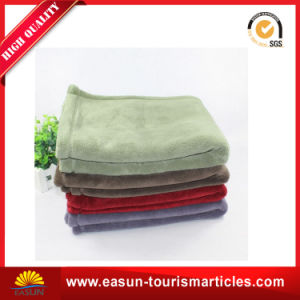 100 Polyester Microfiber Coral Fleece Blanket pictures & photos